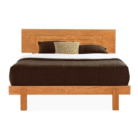 Loft Platform Bed by Cherry Wood Platform Bed Modern Style Furniture