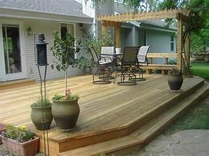 Deck Ideas With Pergola Home Decorators ~ Clipgoo