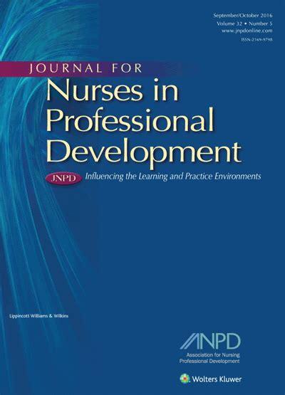 nursing professional development practice model