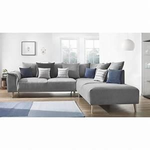 Canapé D Angle Style Scandinave : style scandinave gris ~ Teatrodelosmanantiales.com Idées de Décoration