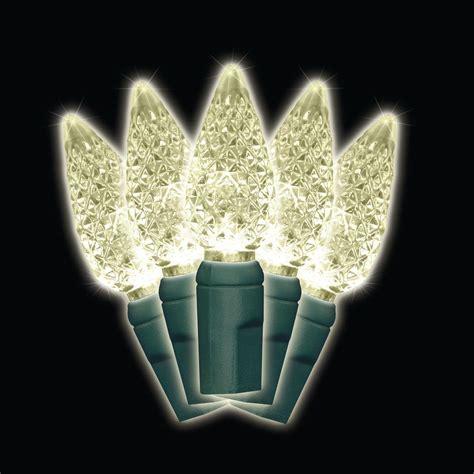 brite star 35 light led white battery operated c6 light