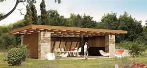 construction cuisine d ete 2 pool house luxe cgrio With construction cuisine d ete
