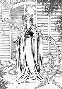 Maison Japonaise Dessin : dessin japonais a colorier ~ Melissatoandfro.com Idées de Décoration
