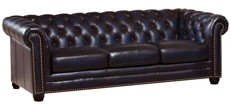 navy blue leather loveseat dynasty navy blue leather sofa from amax leather coleman