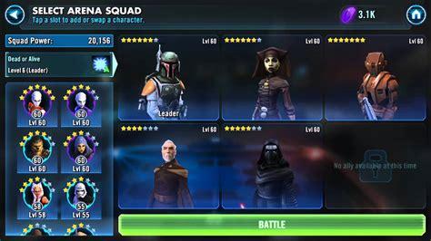 characters  teams star wars galaxy  heroes