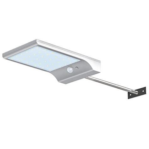 solar powered led security lights innogear waterproof solar gutter lights 36 led motion