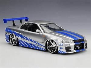 Nissan Skyline Fast And Furious : fast furious nissan skyline gt r34 toy car inspiring wave ~ Medecine-chirurgie-esthetiques.com Avis de Voitures