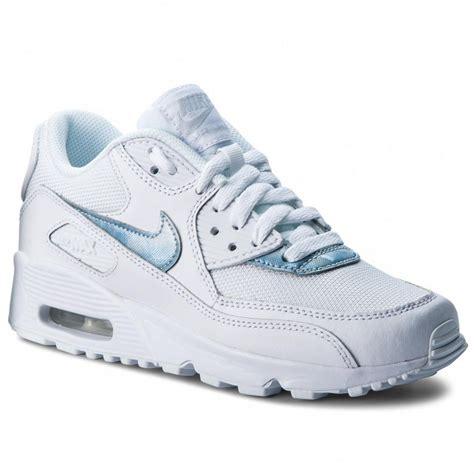 descuento nike air max 1 gs white royal tint white 1211311 tqboqcs boty nike air max 90 mesh gs 833418 111 white royal tint white sneakersy polobotky