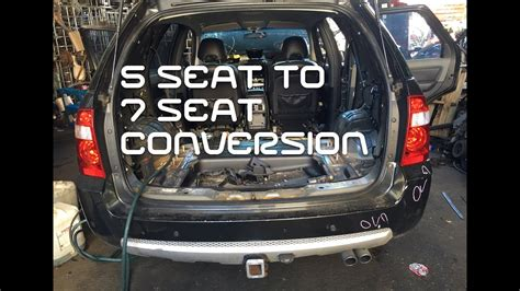seat   seater territory conversion youtube