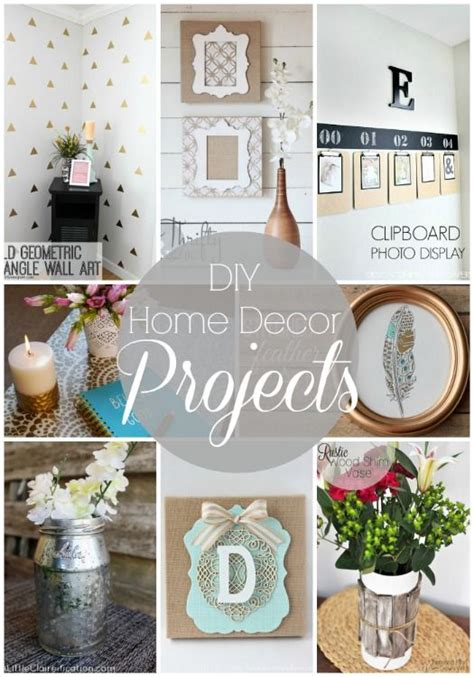 diy home decor projects link party features nap