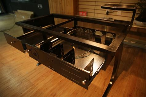 bureau boitier pc vanaen val909w une autre vision du bureau avec boitier
