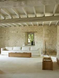 les 25 meilleures idees concernant interieur des murs de With decoration interieur en pierre