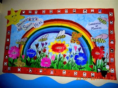 Sweet Wall Decoration Creative Ideas for School