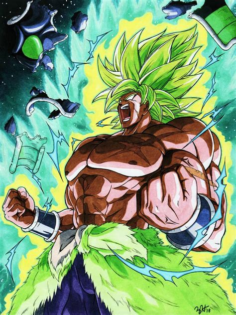 broly dragon ball super broly  lordguyis  deviantart