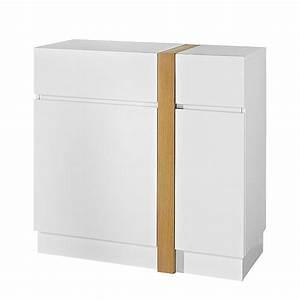 Kommode Flur Weiß : kommode highboard anrichte sideboard flur dielen schrank wei matt eiche kaufen bei dtg ~ Yasmunasinghe.com Haus und Dekorationen