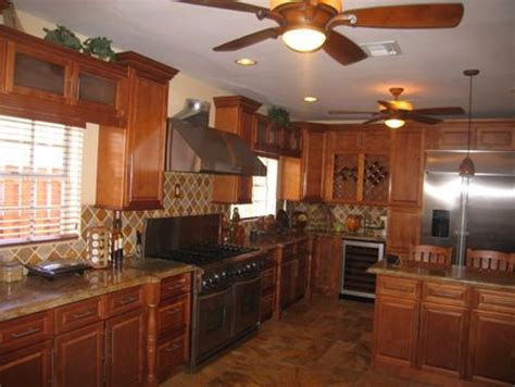 Buy Spice Maple Kitchen Cabinets Online