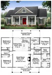 House Plans With Big Bedrooms Colonial Country Traditional House Plan 59952 A Well