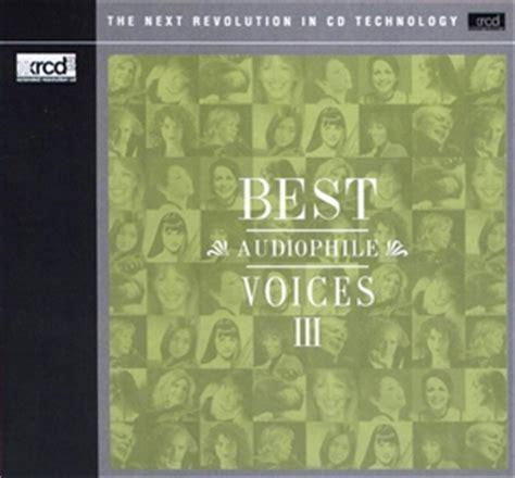 Va Best Audiophile Voices Iii (xrcd)best Audiophile