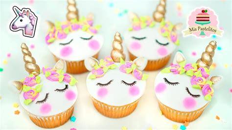Cupcakes De Unicornio  Mis Pastelitos Youtube