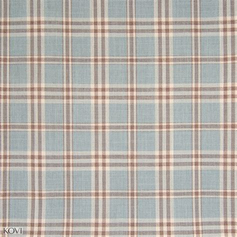Blue Plaid Upholstery Fabric by Sky Blue Plaid Woven Upholstery Fabric