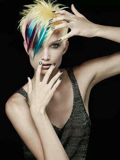 exotic hair color ideas  short hair fashion