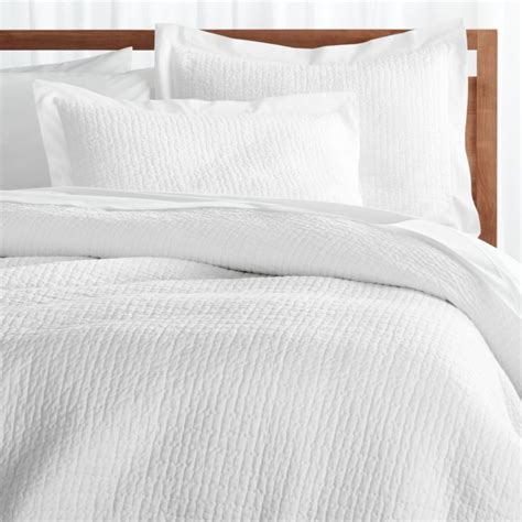 White Blanket Cover by Celeste White Duvet Cover Reviews Crate And