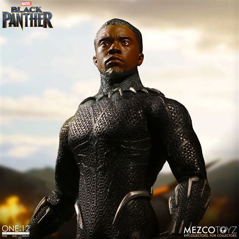 One Collective Black Panther Mezco Toyz