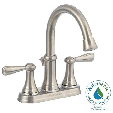 American Standard Faucets Home Depot by American Standard Marquette 4 In Centerset 2 Handle High