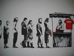 Banksy Graffiti : Anti-capitalism for Sale, Los Angeles