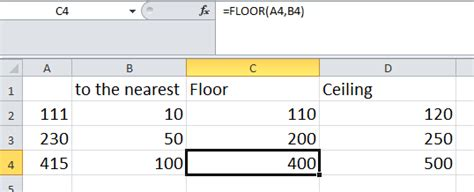 Excel Ceiling Function by Microsoft Excel Tips And Tricks Microsoft Excel Functions