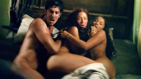 Jessica Parker Kennedy Threesome Sex With Clara Paget In