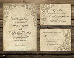 printable wedding invitation download invite rsvp info With print your own rustic wedding invitations
