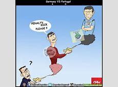Germany v Portugal Troll Football