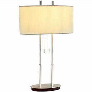 Modern Oval Table Lamp with Oval Lamp Shade | 4015-22 ...