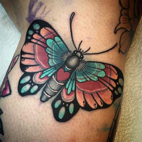 butterfly   side   knee tattoos tattoos