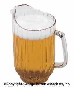 Beer Pitcher | 48 Ounce Container With Pouring Handle