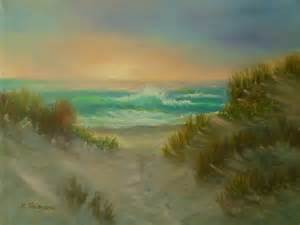 Sand Dunes Beach Painting