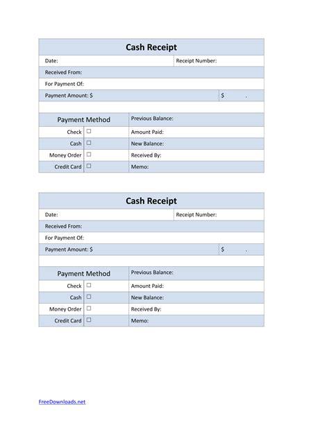 petty cash sales receipt template  rtf
