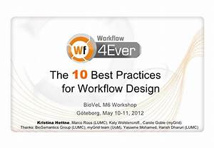 10 Best Practices for Workflow Design