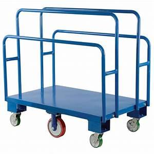 Vestil 2,000 lb 48 in x 30 in Vertical Panel Cart-PANEL