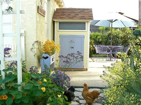 Cottage Style Backyards by Cottage Style Backyard Chicken Coop At Hanburyhouse