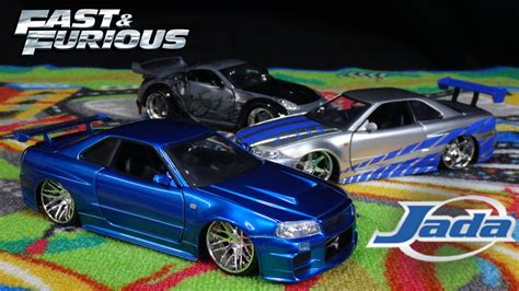 blue nissan skyline fast and furious fast and furious brian s blue nissan skyline gtr jada