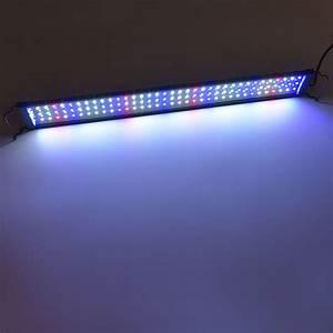Beleuchtung Pflanzen Led : 5730 led vollspektrum aquarium beleuchtung 75 95cm lampe ~ A.2002-acura-tl-radio.info Haus und Dekorationen