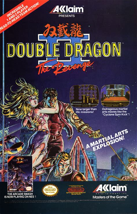 double dragon ii  revenge nintendo fandom powered