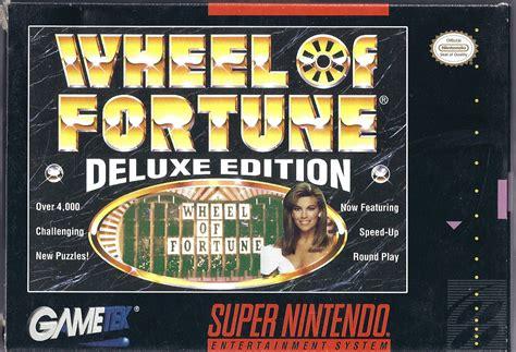 fortune wheel deluxe edition snes game gametek arrives greatness playstation thread community games brain mybrainongames