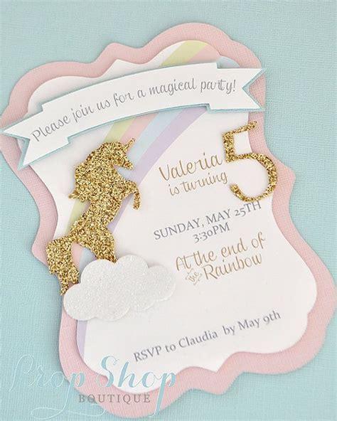 unicorn invitation 20 amazing unicorn birthday ideas for