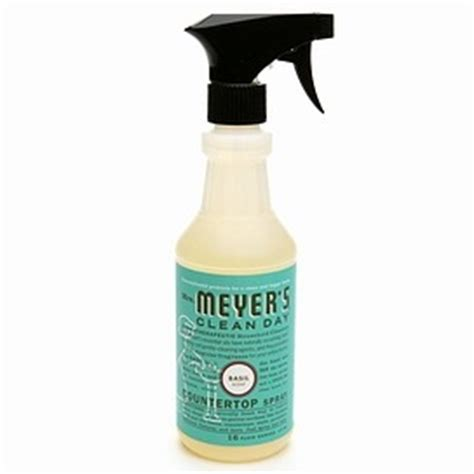 mrs meyer s basil counter top spray cleaner review