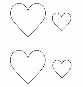 14 printable heart templates to download for free sample With small heart template to print