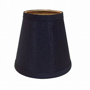 Portfolio in black chandelier lamp shade