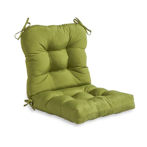 greendale home fashions outdoor seat back chair cushion
